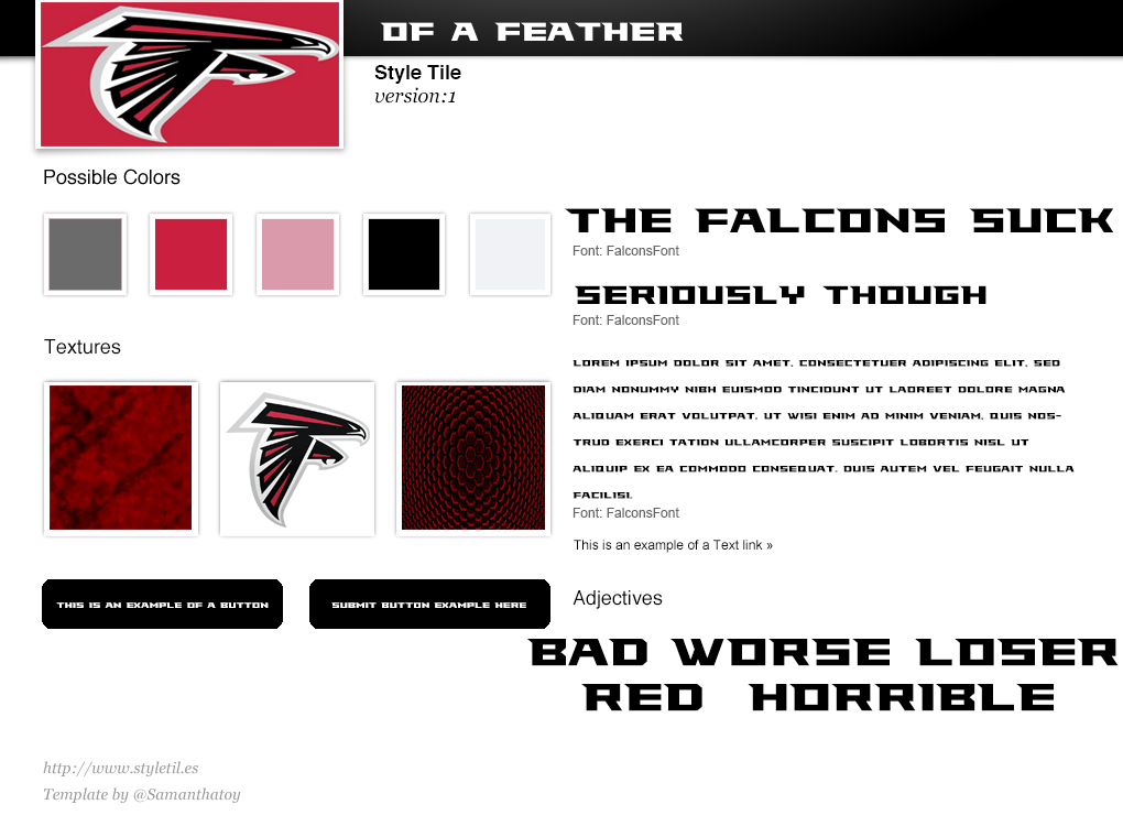 FalconsStyleTemplate